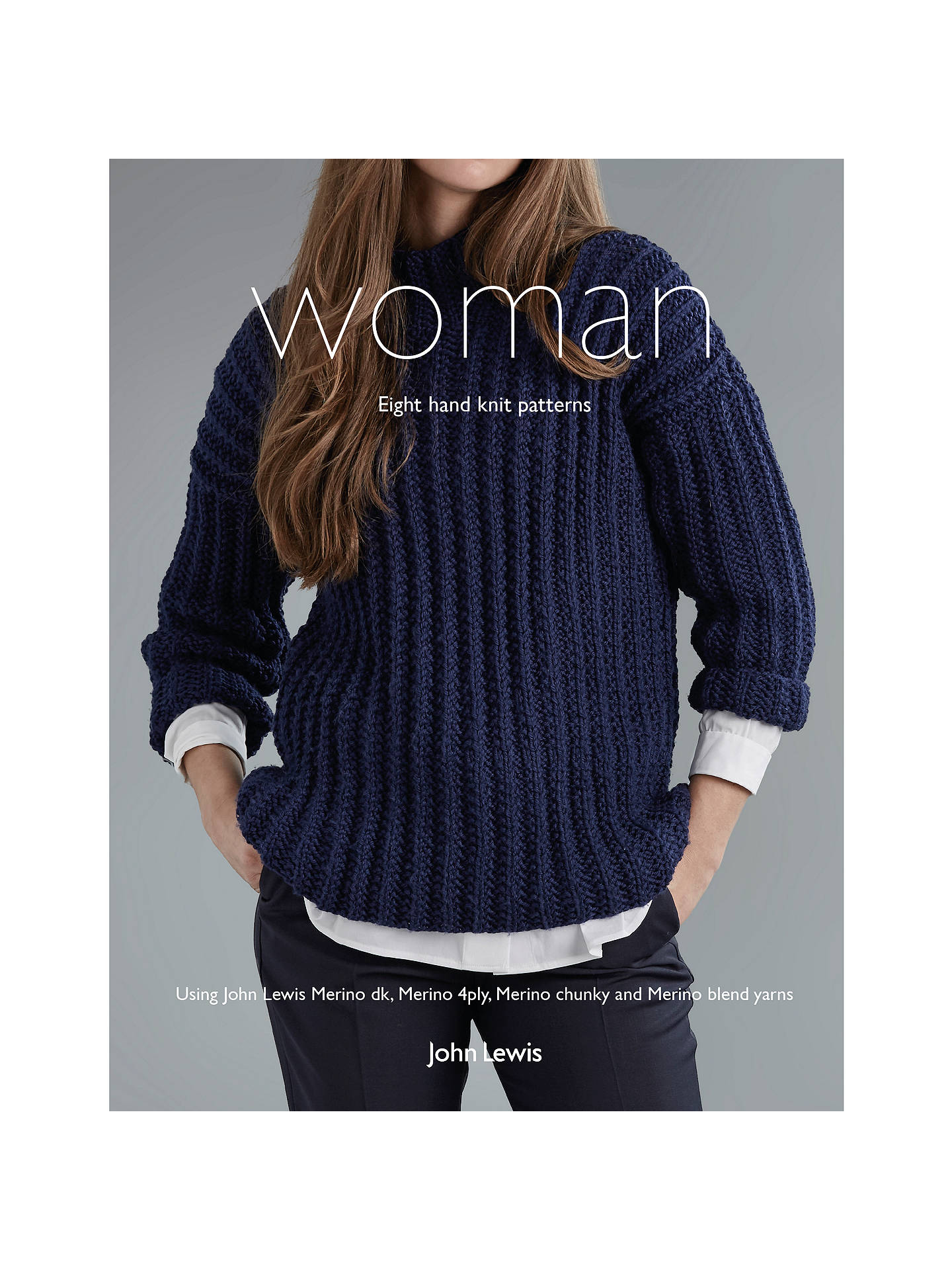 43b0f0847 Buy John Lewis   Partners Women s Knitting Pattern Book Online at  johnlewis. ...
