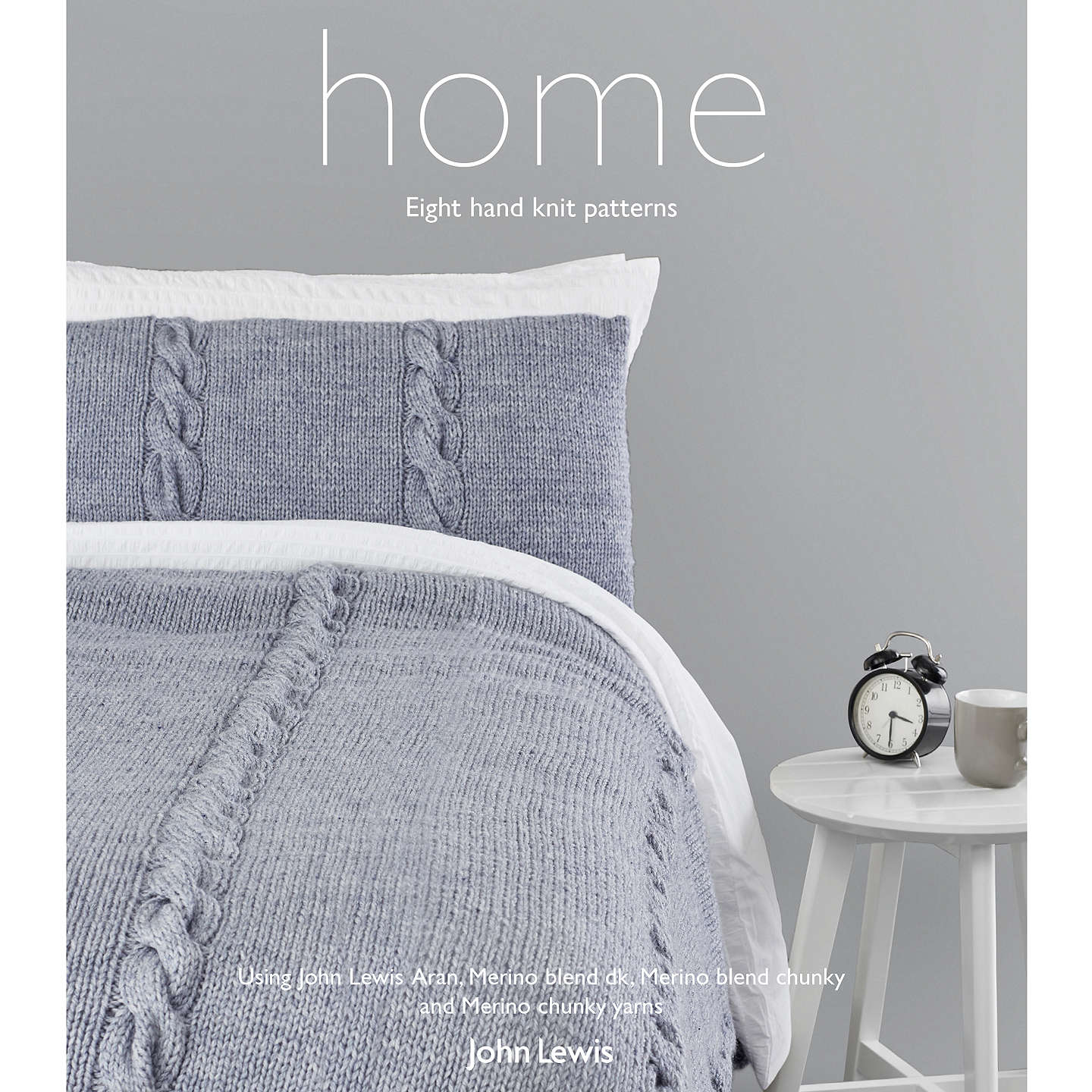 John Lewis Home Knitting Pattern Book at John Lewis