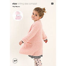 Buy Rico Baby Teddy Aran Children's Coat and Accessories Knitting Pattern, 456 Online at johnlewis.com