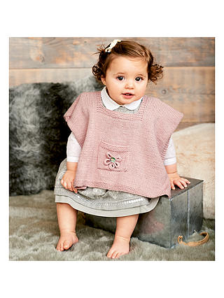 BABY RICO 462 Ponchos and Hats  New Knitting Pattern