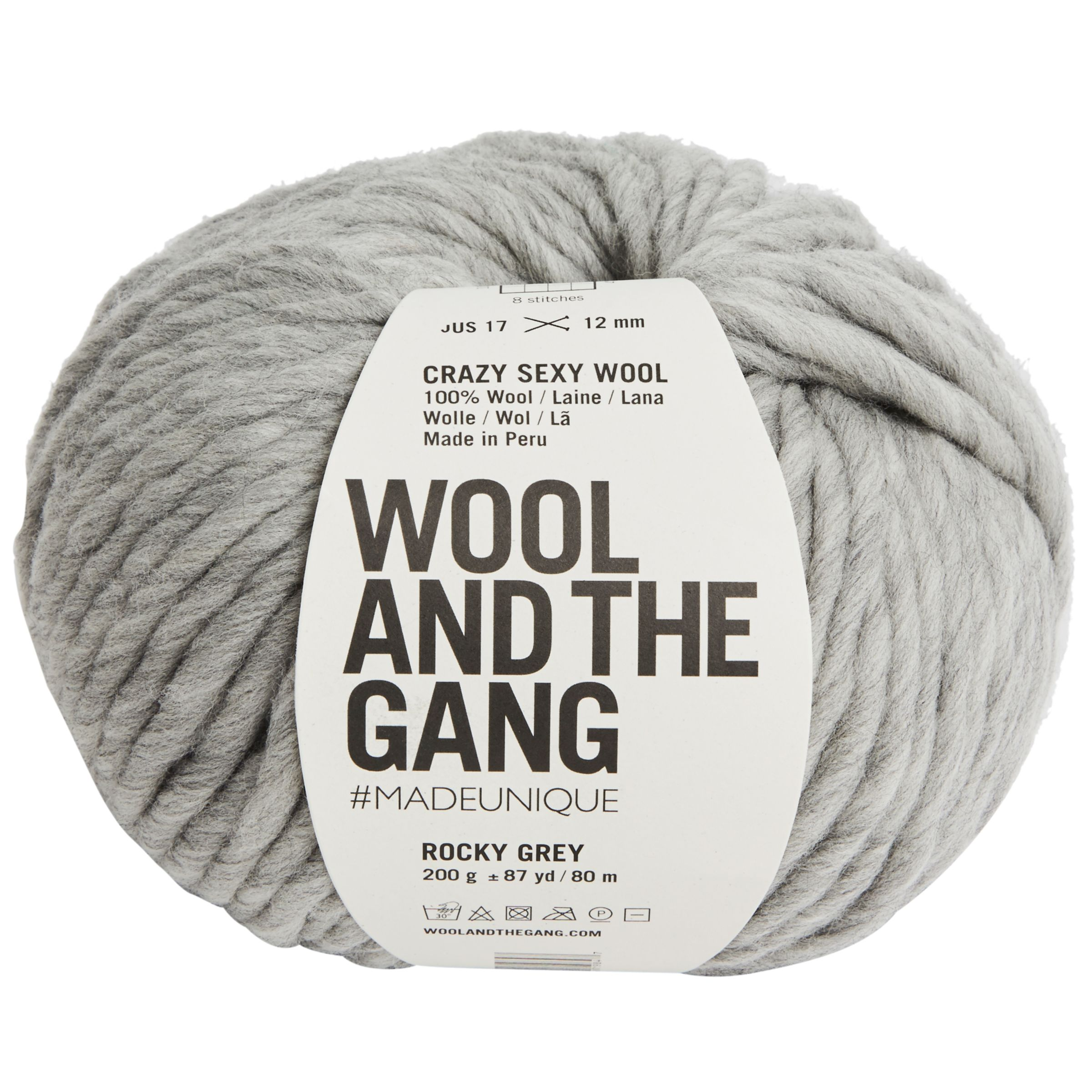 Wool and the Gang Wool And The Gang Crazy Sexy Super Chunky Yarn, 200g