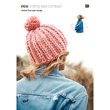 Buy Rico Creative Twist Super Chunky Women's Hat and Jacket Knitting Pattern, 498 Online at johnlewis.com