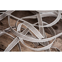 Buy La Stephanoise Linen Ribbon Trimming, 25mm, Neutral Online at johnlewis.com