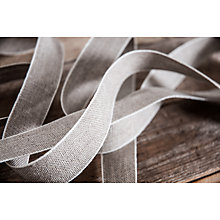 Buy La Stephanoise Linen Ribbon Trimming, 10mm, Neutral Online at johnlewis.com