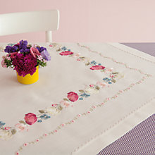 Buy Rico Flower Tendril Cloth Embroidery Kit Online at johnlewis.com