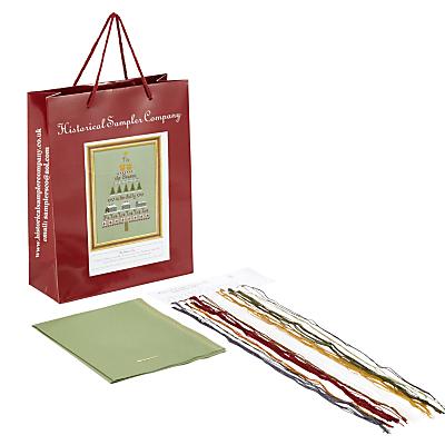 Historical Sampler Christmas Tree Cross Stitch Kit