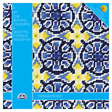Buy DMC Creative Modern Mosaic Tapestry Kit Online at johnlewis.com