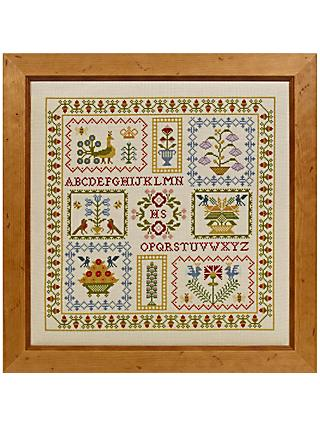 Historical Sampler Company Acorn Cross Stitch Kit