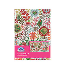 Buy DMC Creative Blossom Buds Cross Stitch Kit Online at johnlewis.com