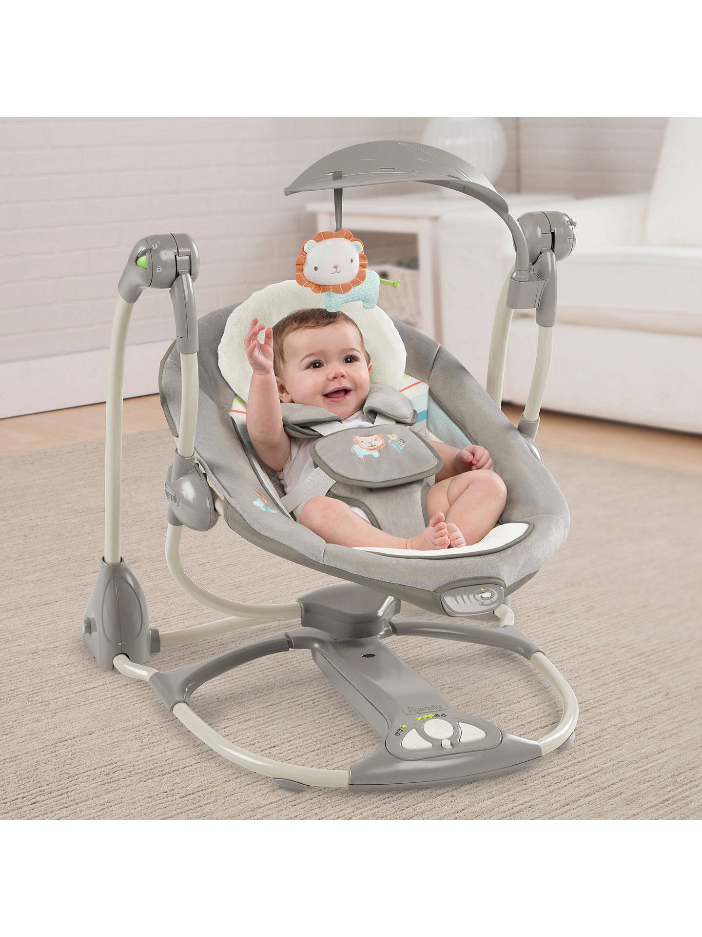 Buy Ingenuity Candler ConvertMe Swing-2-Seat Online at johnlewis.com