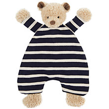 Buy Jellycat Breton Bear Soother Soft Toy Online at johnlewis.com