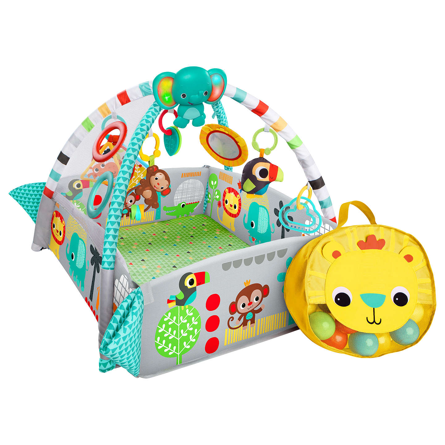 Bright Starts 5 in 1 Ball Activity Play Gym at John Lewis