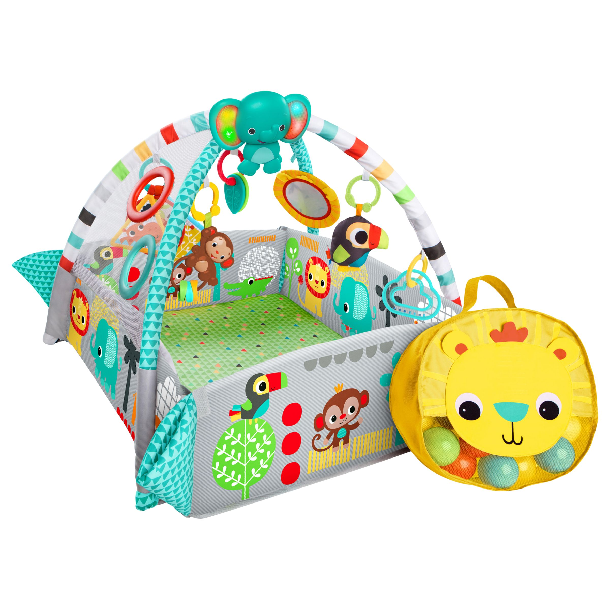 Bright Starts Bright Starts 5 in 1 Ball Activity Play Gym