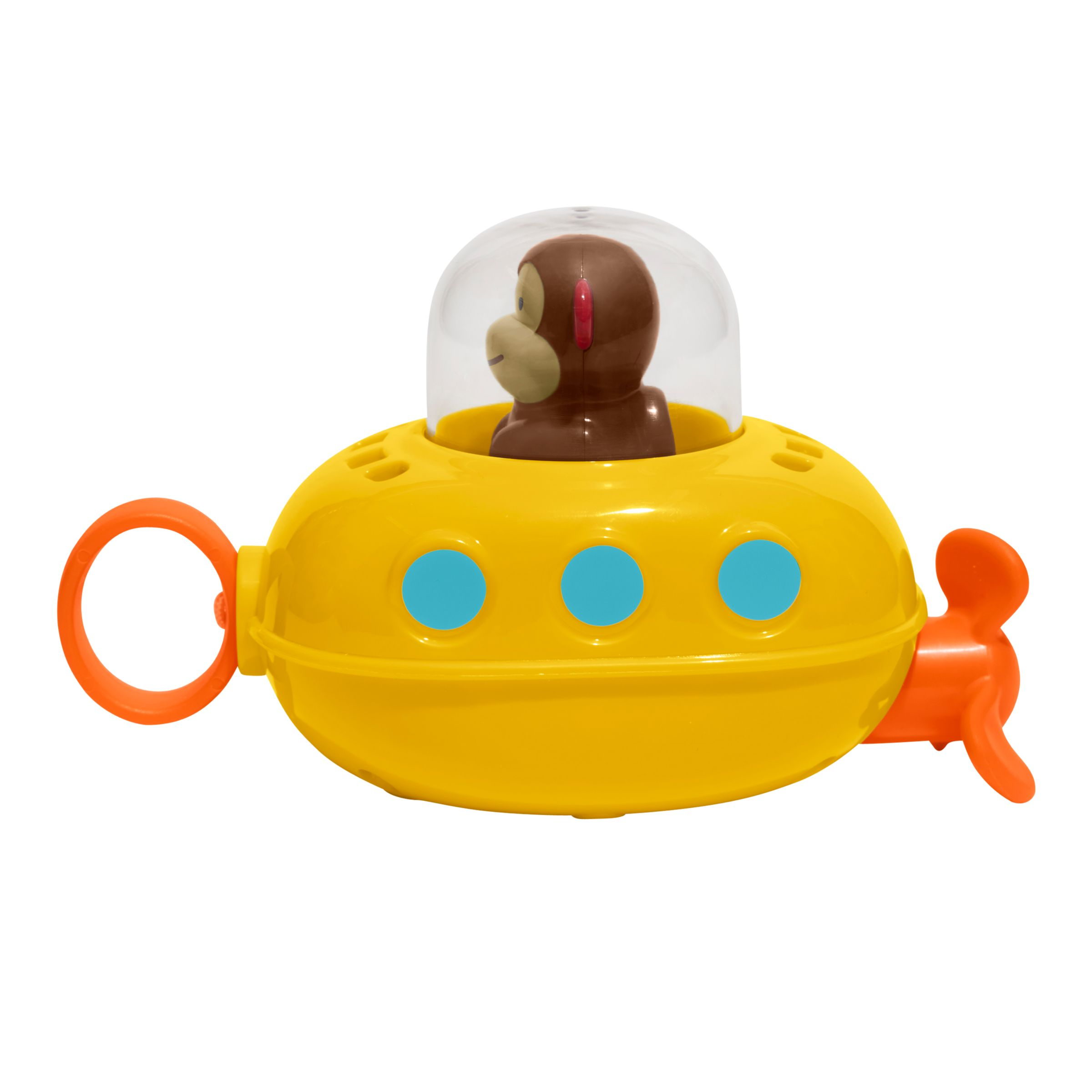 Skip Hop Skip Hop Pull and Go Monkey Submarine Bath Toy