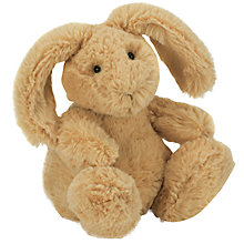 Buy Jellycat Poppet Honey Bunny Soft Toy Online at johnlewis.com