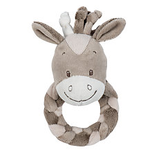 Buy Nattou Noa The Horse Soft Ring Rattle Online at johnlewis.com
