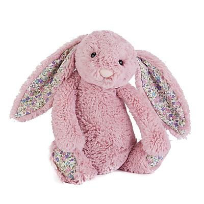 Image of Jellycat Blossom Bunny Soft Toy, Small, Pink