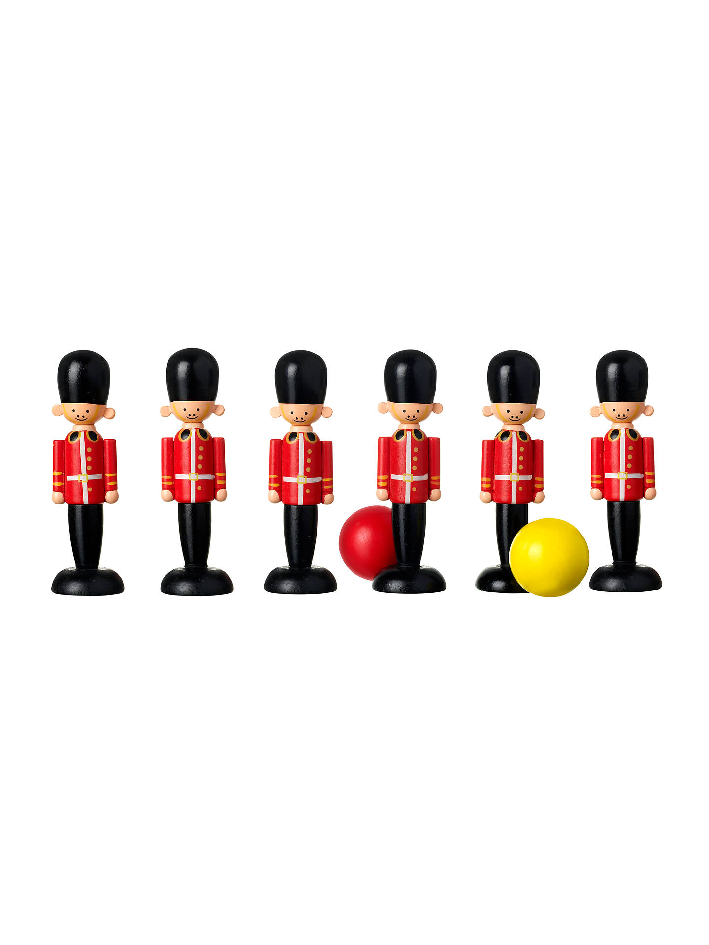 BuyOrange Tree Soldier Wooden Toy Skittles Online at johnlewis.com