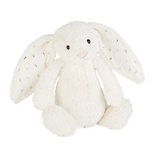 Buy Jellycat Bashful Twinkle Bunny Soft Toy, Medium Online at johnlewis.com