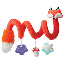Buy Manhattan Toy Activity Spiral Fox Toy, Orange Online at johnlewis.com