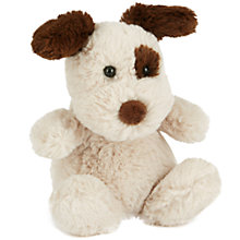 Buy Jellycat Poppet Pup Soft Toy, Tiny, Cream/Brown Online at johnlewis.com