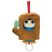 Buy Manhattan Lullaby Owl Pull Musical Mobile Toy Online at johnlewis.com