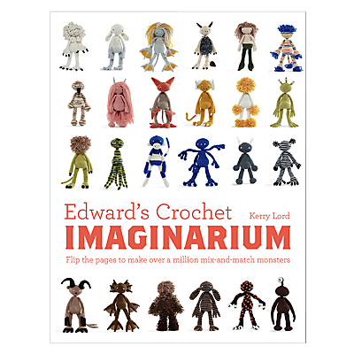 Product photo of Toft edward s crochet imaginarium book by kerry lord
