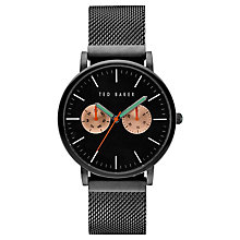 Buy Ted Baker Men's Brit Day Bracelet Strap Watch Online at johnlewis.com