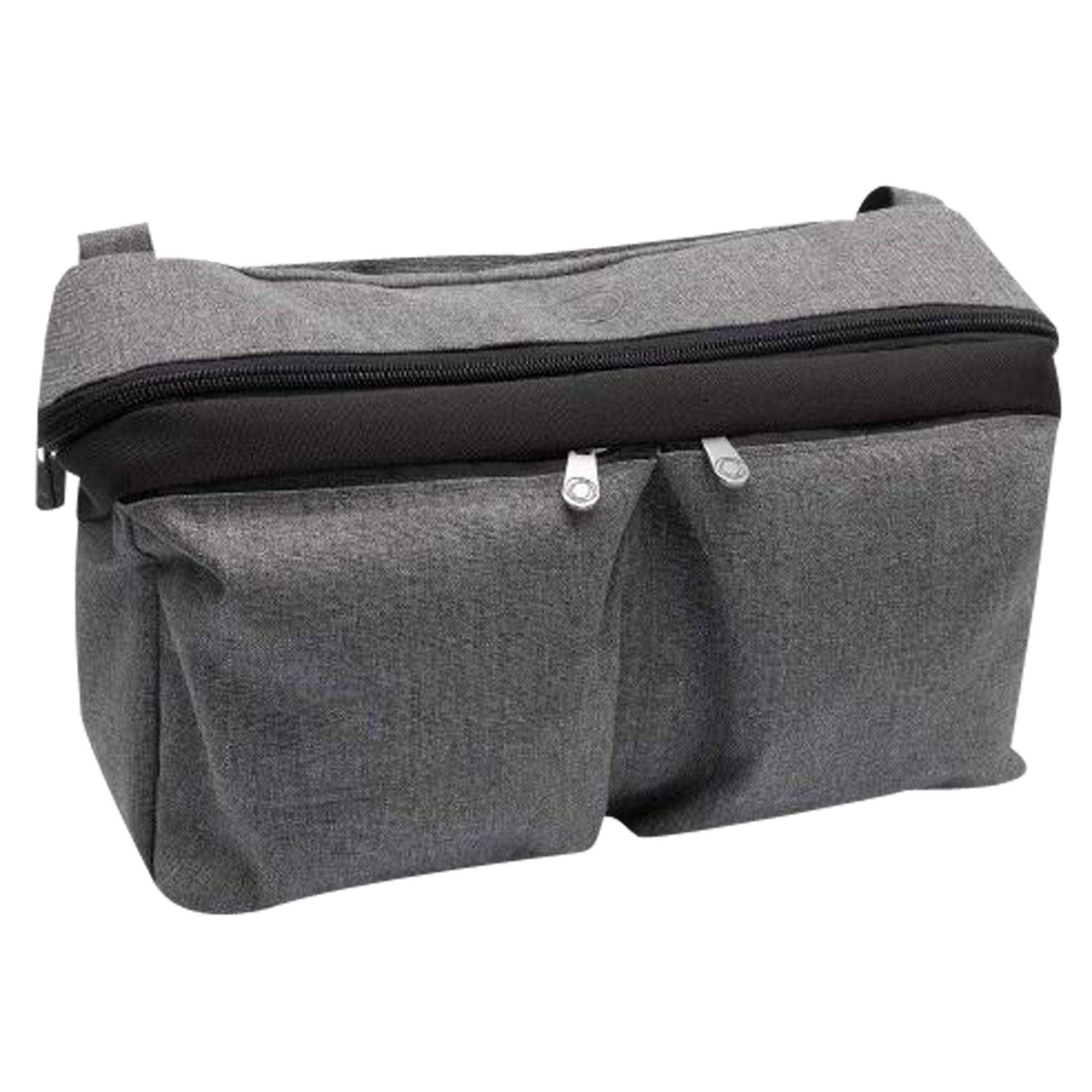 Blue Melange Attaches to Handlebar Bugaboo Universal Pushchair Organiser Bag