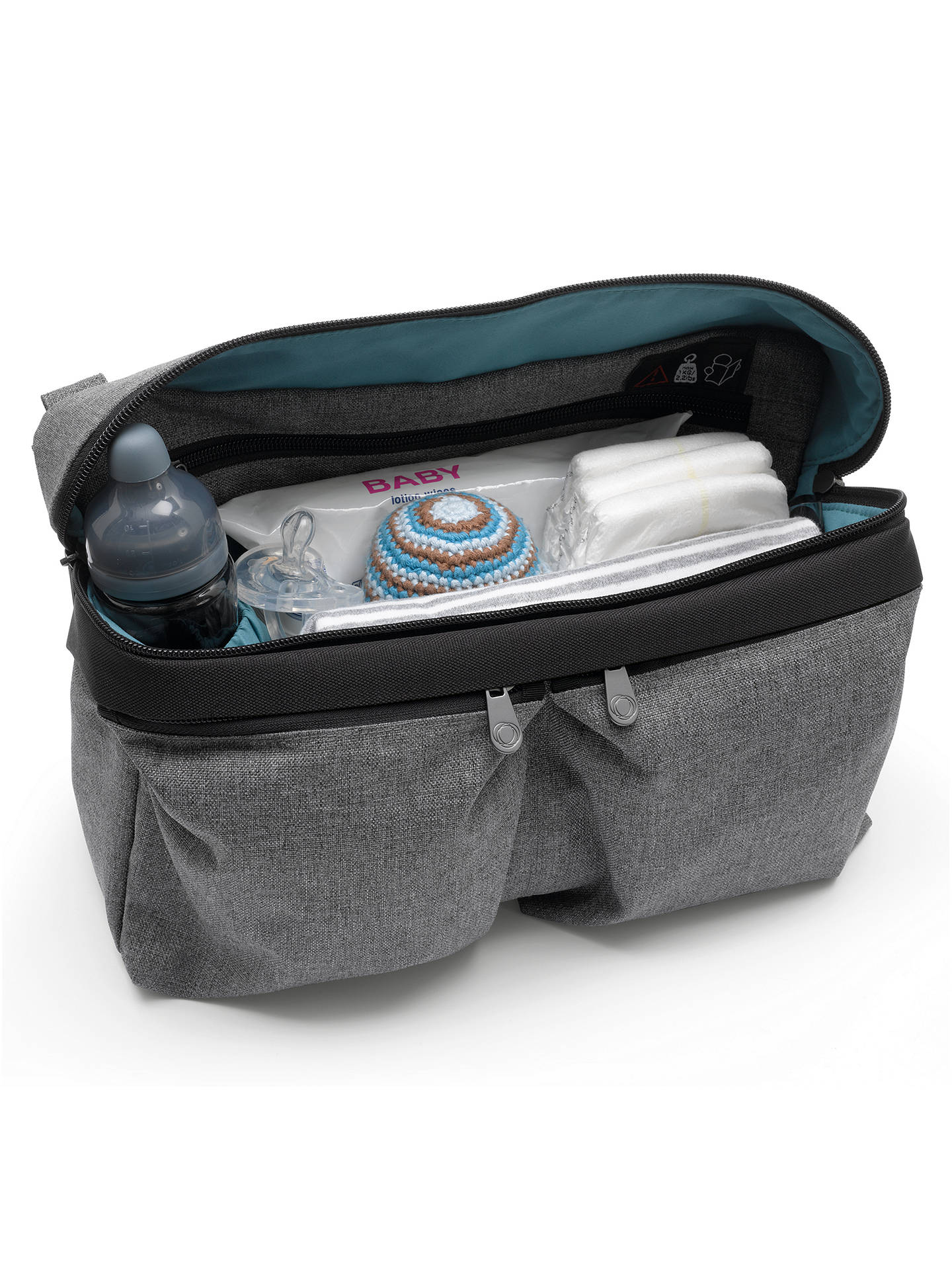 BuyBugaboo Changing Bag Organiser, Grey Online at johnlewis.com