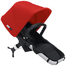 Buy Bugaboo Runner Pushchair Seat with Red Canopy Online at johnlewis.com