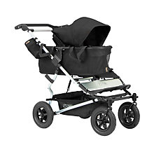 Buy Mountain Buggy Duet Single Pushchair, Black Online at johnlewis.com