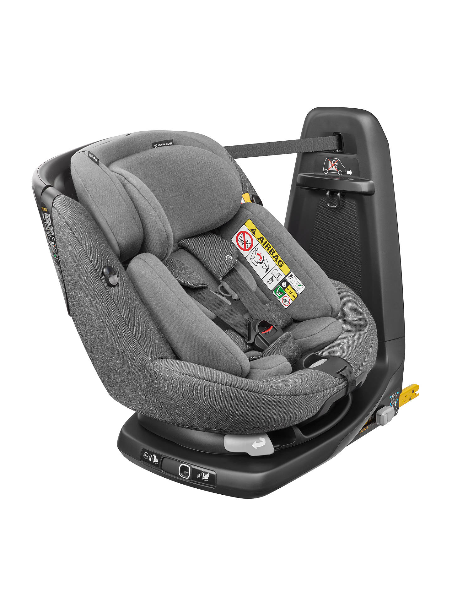 BuyMaxi-Cosi AxissFix Plus Group 0+ and 1 Car Seat, Sparkling Grey Online at johnlewis.com