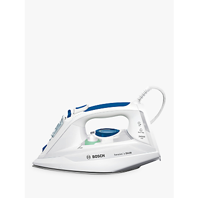 Bosch TDA3010GB Steam Iron, Blue / White