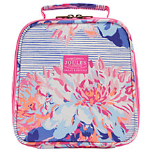 Buy Joules Posy Stripe Lunchbox, Pink/Purple Online at johnlewis.com