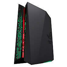 Buy ASUS G20 Gaming Desktop PC, Intel Core i7, 16GB RAM, 1TB HDD + 256GB SSD, NVIDIA GTX 970, Black/Red Online at johnlewis.com