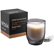 Buy Design Project by John Lewis No.064 Woodland Berry Candle Online at johnlewis.com