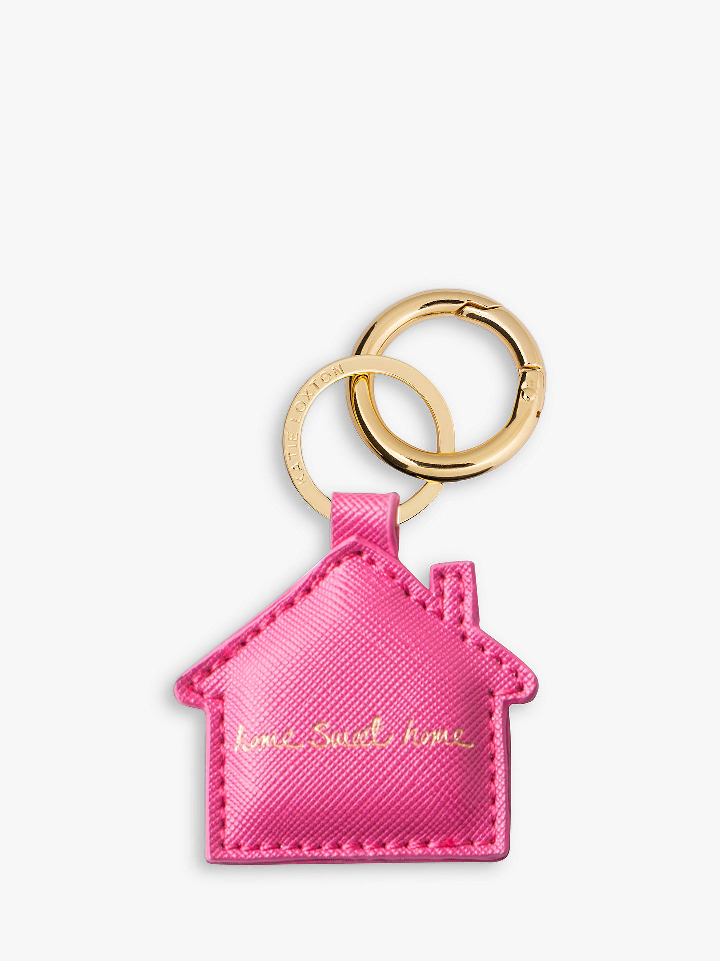 BuyKatie Loxton Home Sweet Home Keyring Online at johnlewis.com