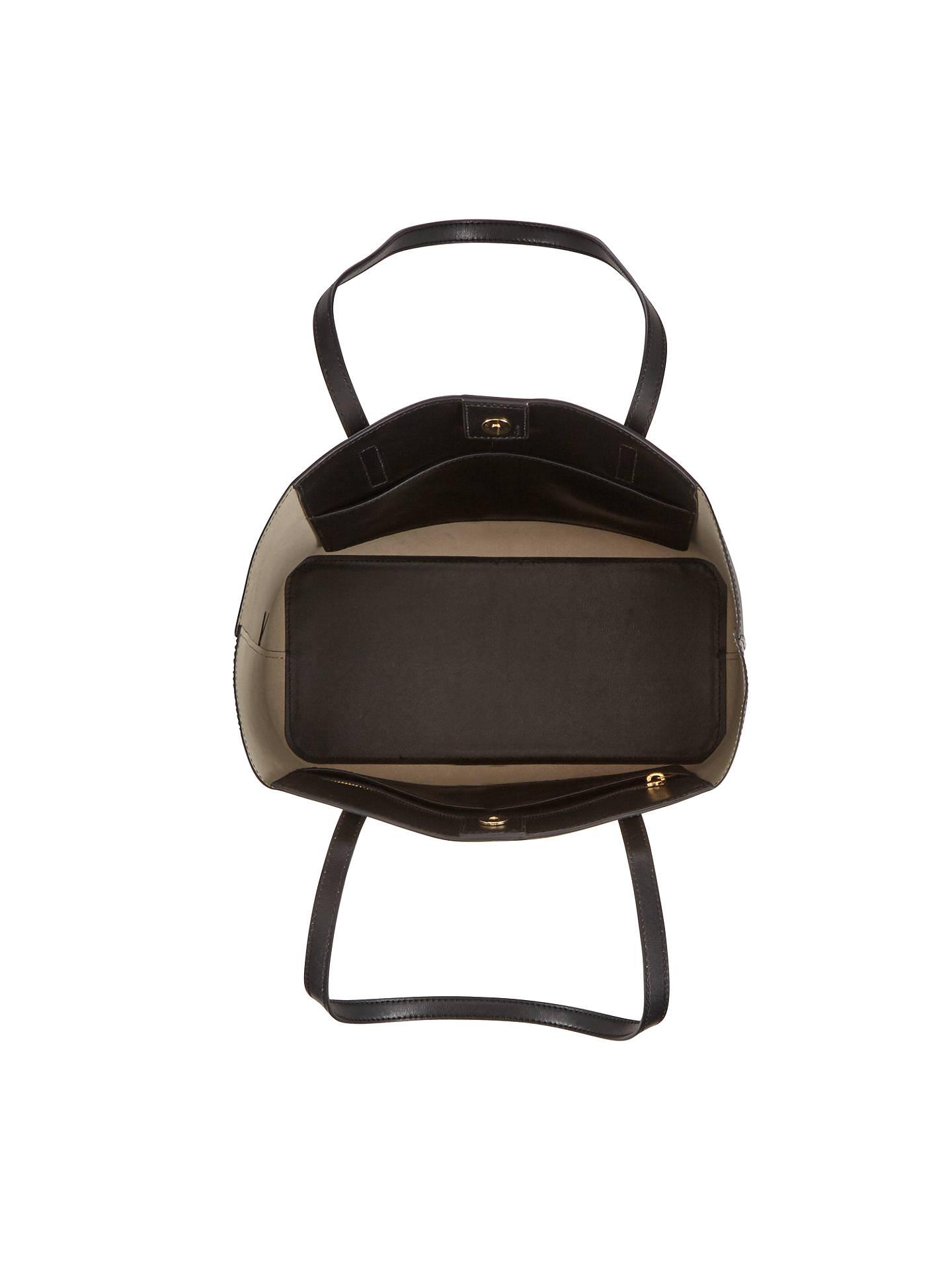 9e777f80273c ... Buy MICHAEL Michael Kors Emry Leather Medium Tote Bag, Black Online at  johnlewis.com ...