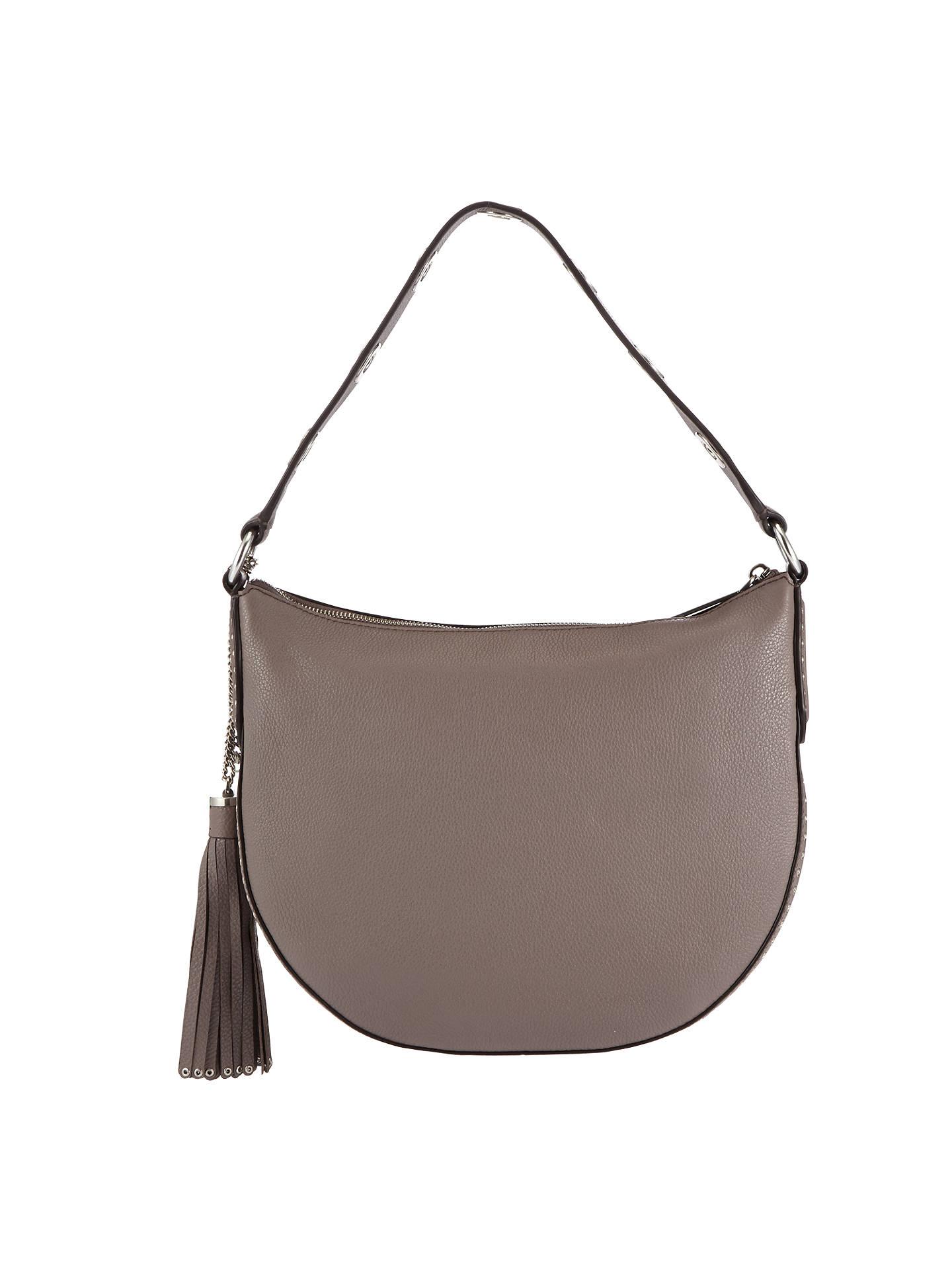 6c8d9602e010 Buy MICHAEL Michael Kors Brooklyn Large Convertible Leather Hobo Bag,  Cinder Online at johnlewis.