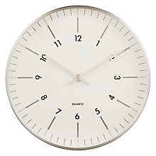 Buy John Lewis City Wall Clock, Dia.30cm Online at johnlewis.com