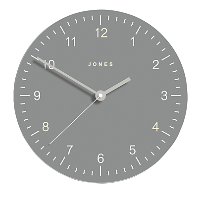 Jones Freddie Glass Clock, Dia.30cm