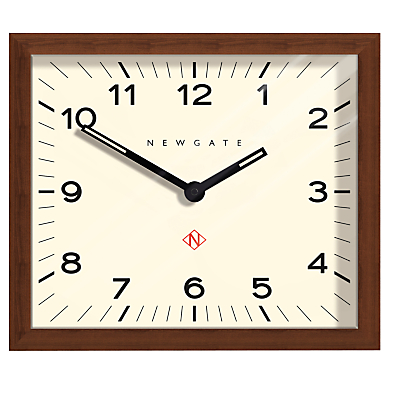 Newgate Mr Davies Wooden Wall Clock, Natural