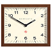 Buy Newgate Mr Davies Wooden Wall Clock, Natural Online at johnlewis.com