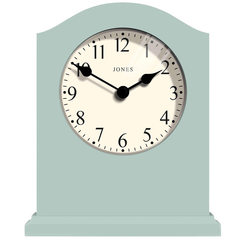 Jones Banbury Mantel Clock, Duck Egg at John Lewis