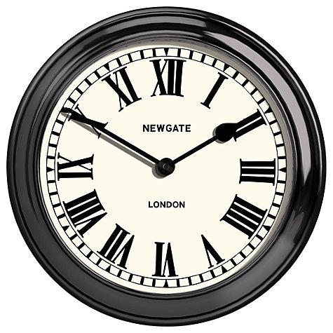 Buy Newgate Metal Outdoor Wall Clock Dia 55cm Black