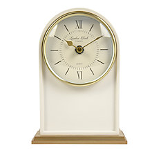Buy London Clock Company Heritage Mantel Clock, Cream/Gold Online at johnlewis.com