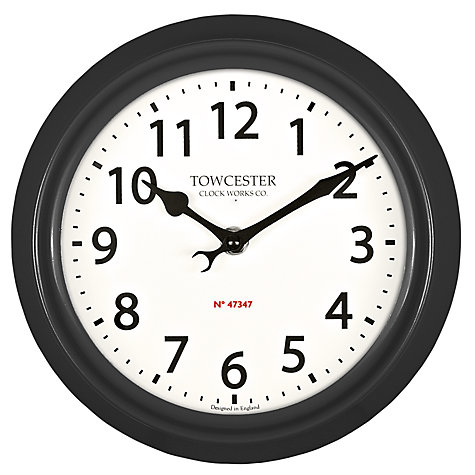 Buy Acctim Shelton Dusk Outdoor Wall Clock, Dia.21.5cm Online at johnlewis.com