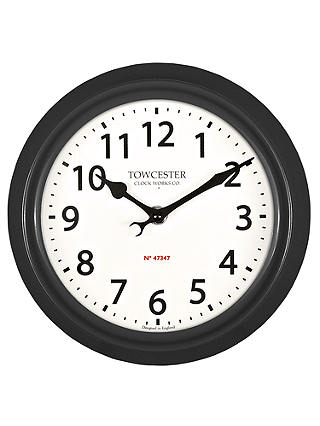 Buy Acctim Shelton Dusk Outdoor Wall Clock, Dia.21.5cm, Black Online at johnlewis.com