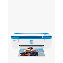 Buy HP Deskjet 3720 All-in-One Wireless Printer, Wi-Fi and Apple AirPrint Online at johnlewis.com